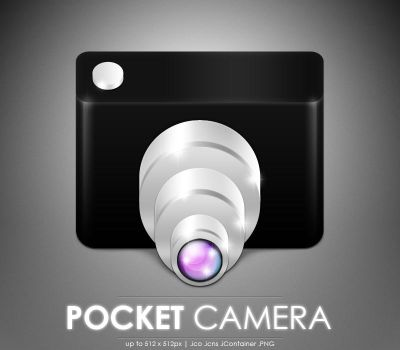 Pocket Camera icon by MDGraphs