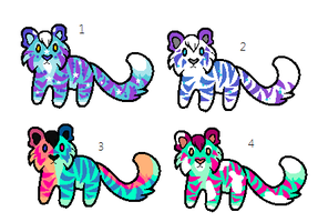 Lil Tiger Adopts (closed) by Kainaa