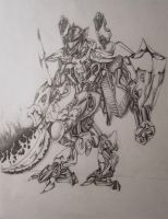 Telani Cavalry Personel Mecha by quicksilver20
