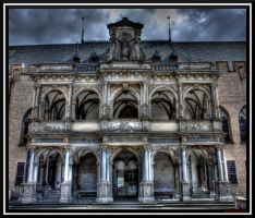 historic town-hall by andreasbf
