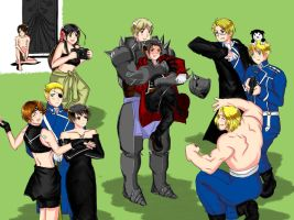 APH meets Fullmetal Alchemist by blackcurrantjam