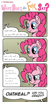 What Does the Fox Say? by RedApropos