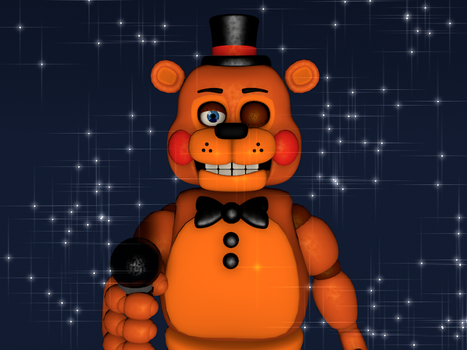 Are you Ready?-Toy Freddy poster (C4D) by JumpyDarm
