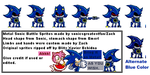 Metal Sonic Battle Sprite Sheet by SagaHanson25