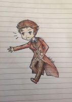 Tenth Doctor Chibi by NoxNight11085