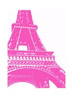 Pink Eiffel Tower by sej