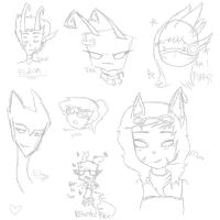 Doodle dump 2 XD by SugarNspices