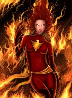 Dark Phoenix by icyheart