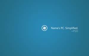 Your PC. Simplified. +PSD by zkiuruse