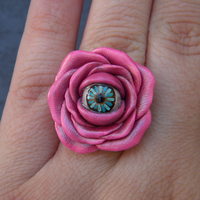 Pink Mutant Rose Ring by iHeartMutants