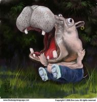Hippo Hysteria by southercomfort
