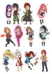 [C] Fairy Tail OCs Chibi Set by MyangHime