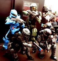 Halo Fan Crew PAX 09 by ninjaisonfire