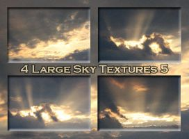 4 Large Sky textures 5 by Globaludodesign