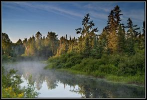 Morning in Muskoka by IgorLaptev