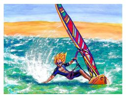 Surf-Fun Vegeta by Villa-Chinchilla