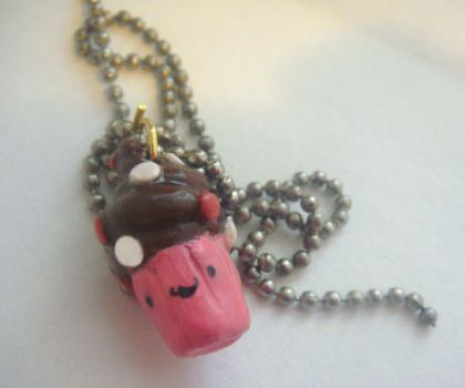 cupcake necklace by Tae1985