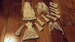 Christmas decorations by magicandcrochethook