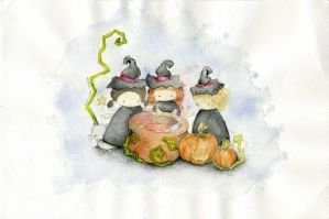 .three witches by immacola