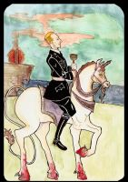 Heydrich tarot Knight of cups by hello-heydi