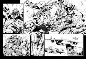 Transformers Japanese Comic 1 by GuidoGuidi