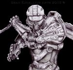 Master Chief: Halo by SeanExcellius