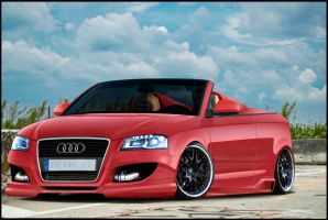Audi A3 Full Brush. by RikaDesigner