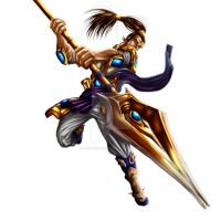 XIN ZHAO color by eaglestudio20