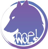 Logo mel-wolf vectorial by mel-wolf