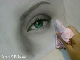 Eye Project - Elizabeth WIP 4 by Aty-S-Behsam