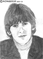 George Harrison, 1966 by ThePeculiarMissE