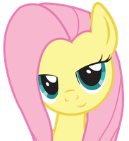 Dat Eyes Fluttershy by SlyFoxCl
