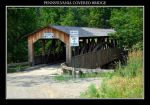 Pennsylvania Covered Bridge by Mardonic
