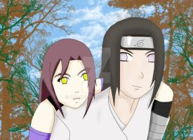Request: Aura with Neji by ota-chan