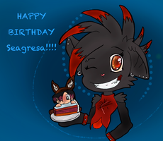 HAPPY BIRTHDAY SEAGRESA!! :D by leehalea