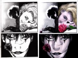 the crow comic color by westwolf270