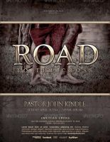 Road to the Cross Church Flyer Template by loswl