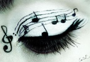 Music eyes by Chuchy5