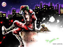Joker X'mas by Vavanemo