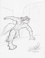 Fang at Parkour by lomstat