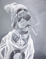 Smokey the Dog by berido
