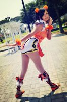 XIAOYU strike a pose by dashcosplay