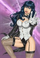 Zatanna says Hi by powerbook125