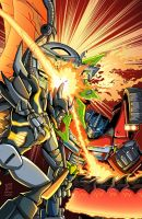 Predaking vs. Prime by MachSabre