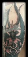 Baphomet by state-of-art-tattoo