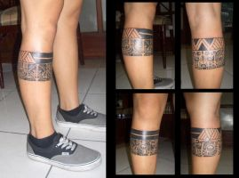 Polynesian Leg Band by camsy