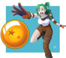 Young Bulma by VozGris
