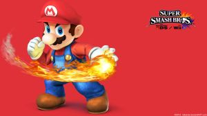 Mario 2 |Wallpaper| Super Smash Bros. Wii U/3DS by Gibarrar