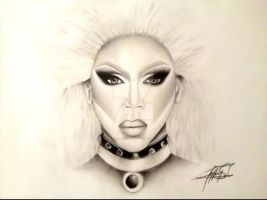Rupaul by JeffreeScot