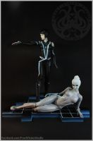 Tron:Quorra and Gem. by Frost-Vision-Studio
